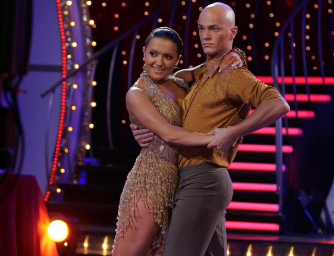 Влад Яма и Наталья Могилевская в Танцях з зірками 10 лет назад