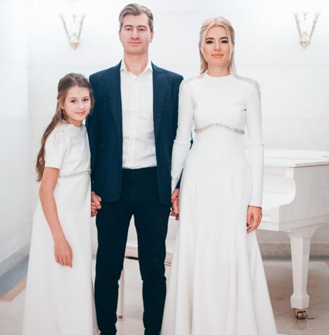 Ольга Горбачева, Юрий Никитин и их дочь Полина