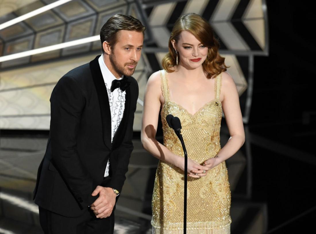 Оскар 2017: Райан Гослинг и Эмма Стоун