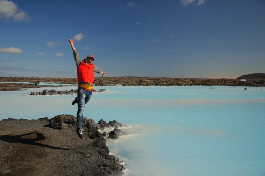 Женя Синельников в Исландии