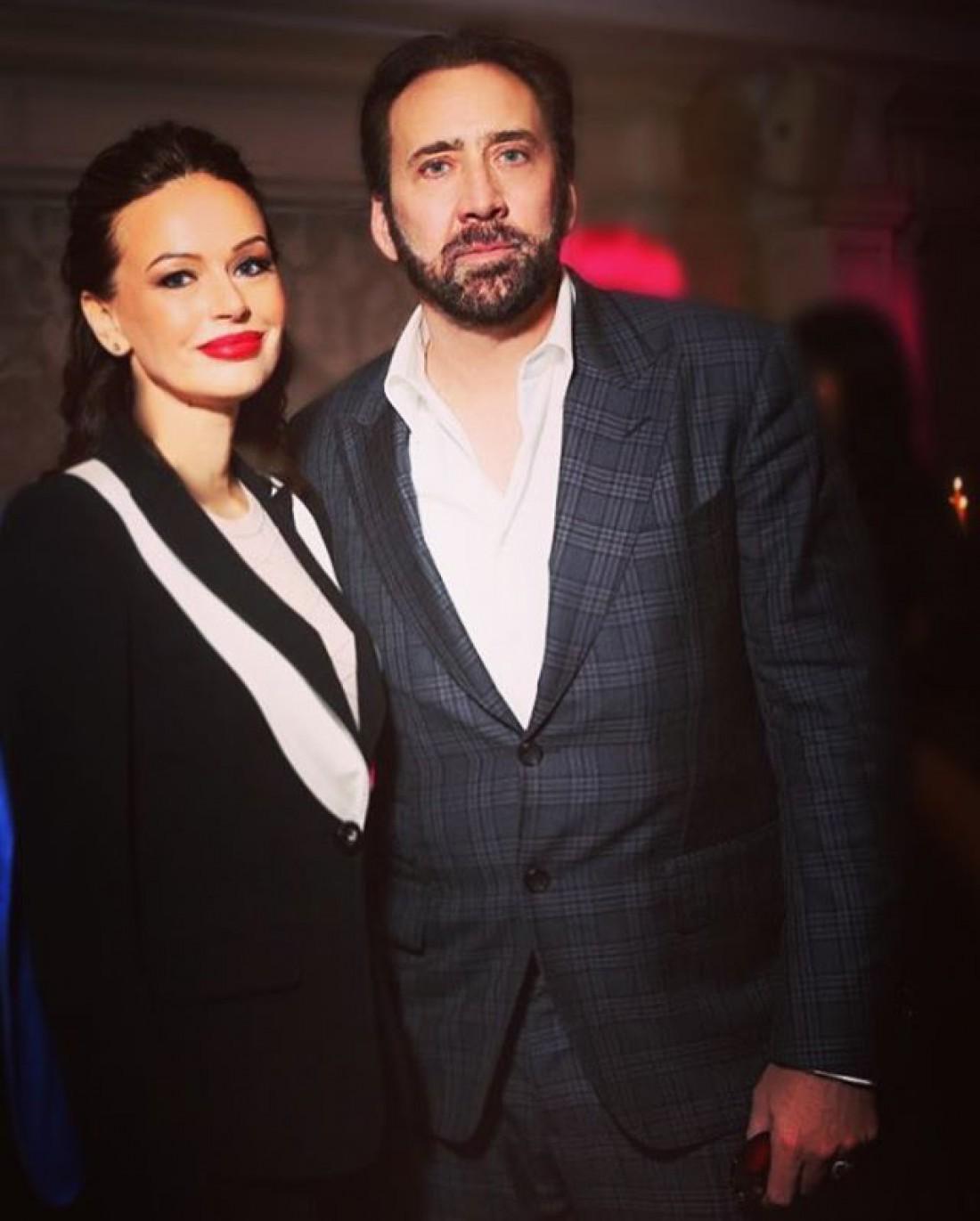 Ирина Безрукова и Николас Кейдж