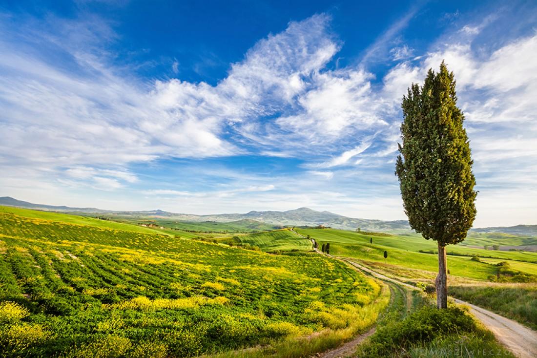 Пейзажи в Италии