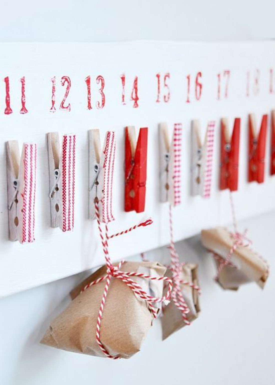 Календарь в подарок своими руками