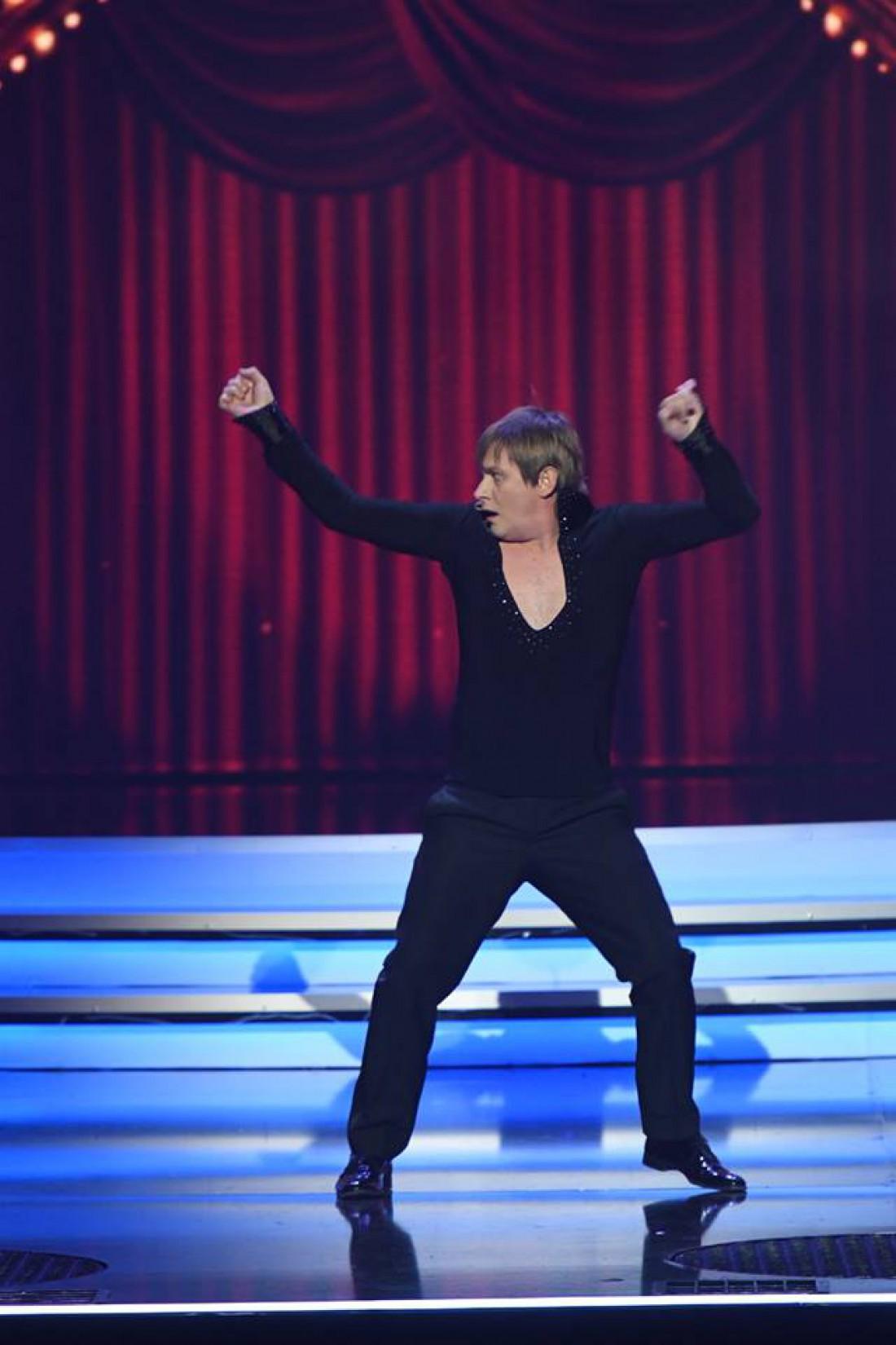 Квартал 95 пародия на шоу Танці з зірками: Степан Казан в роли Дмитрия Комарова