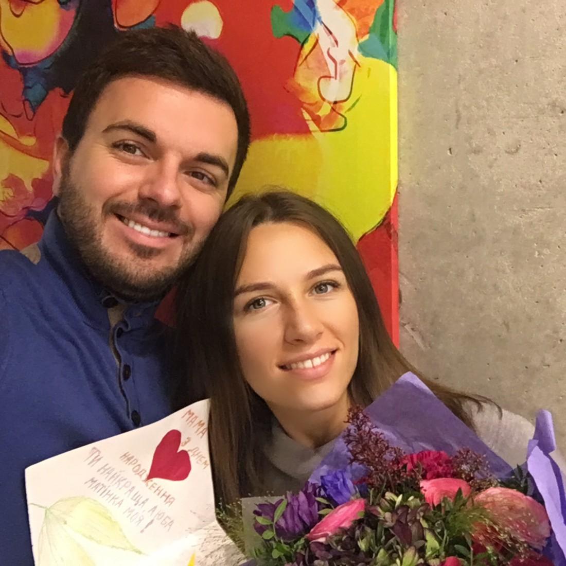 Гриша с женой