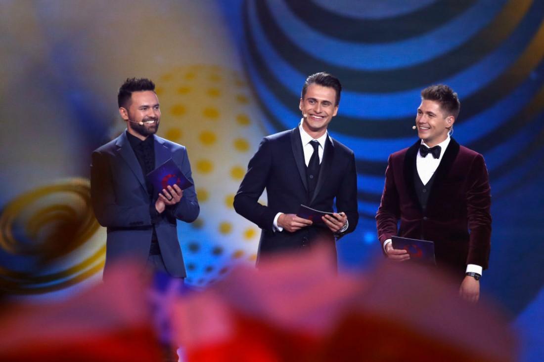 Евровидение 2017: Тимур Мирошниченко,  Александр Скичко и Владимир Остапчук