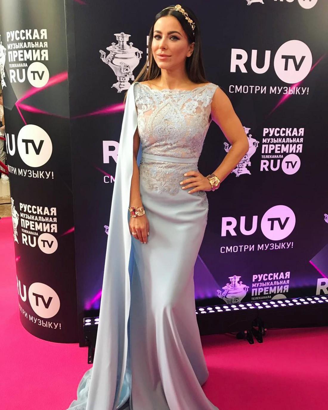 Ани Лорак на премии телеканала RU.TV
