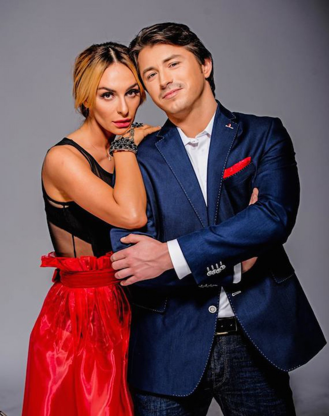 Екатерина Варнава и Сергей Притула