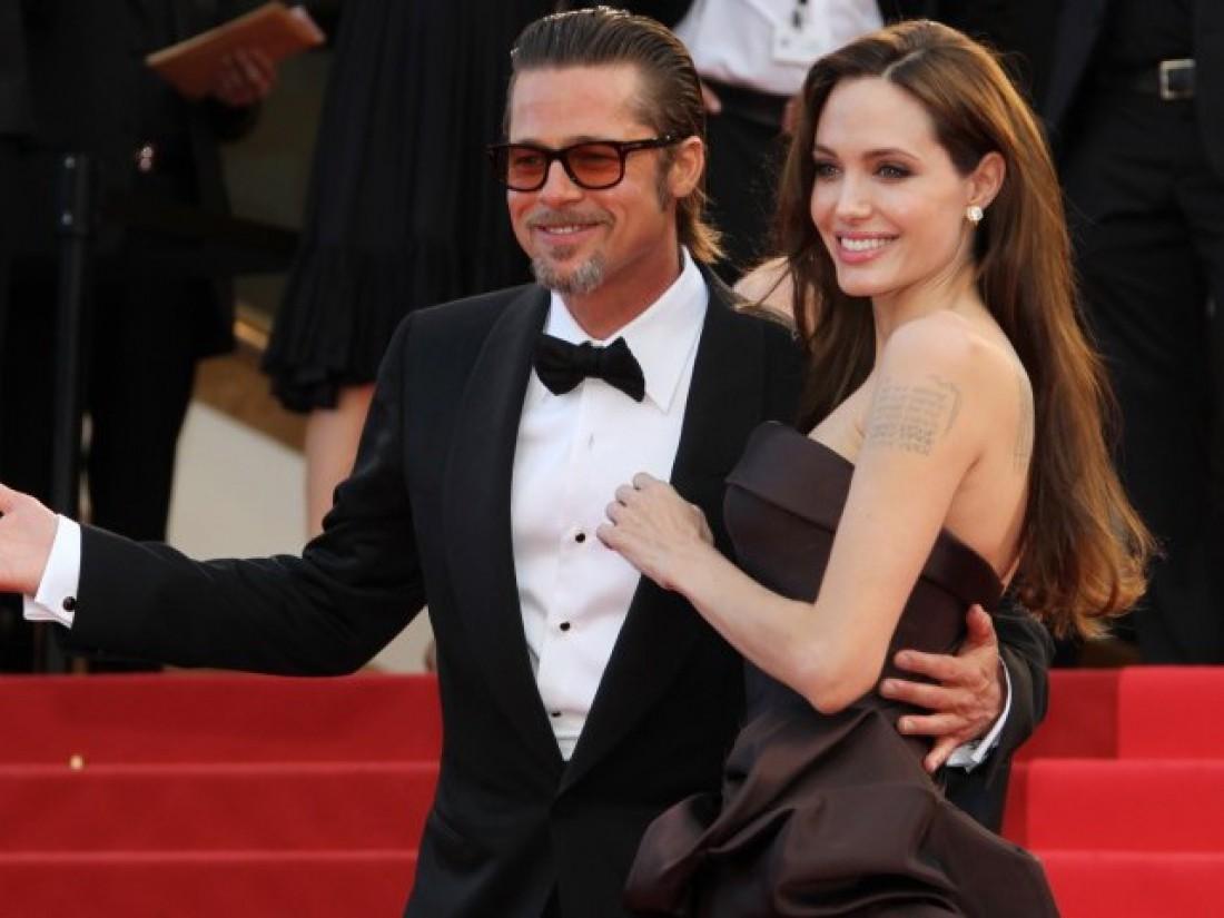 Бред Питт и Анджелина Джоли
