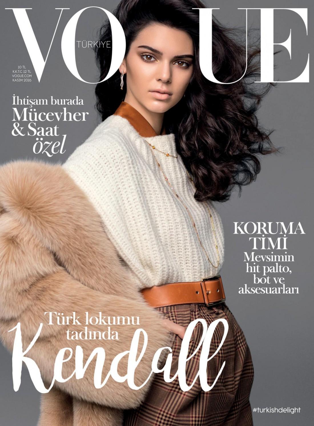 Кендалл Дженнер в фотосете турецкого Vogue