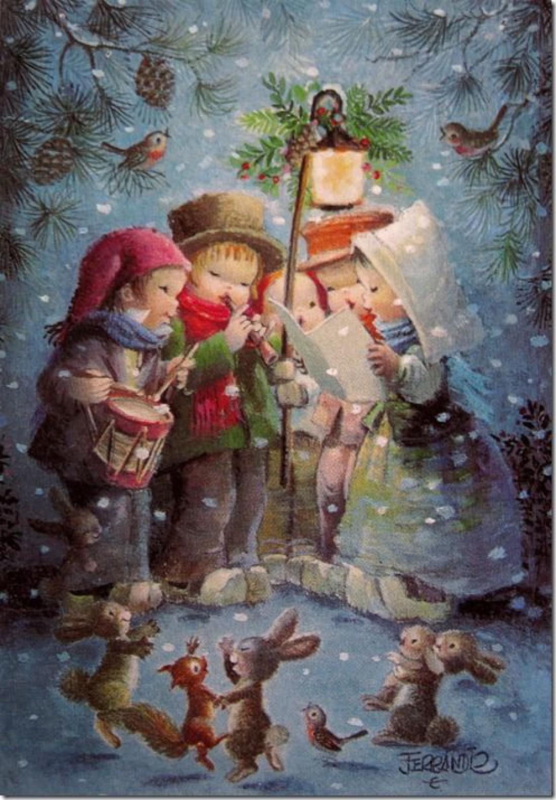 Украинское поздравление в новым годом с картинками