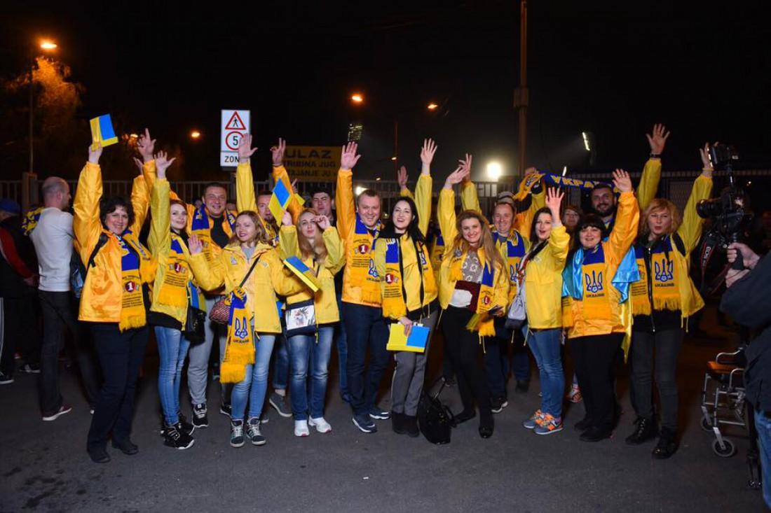 Переможці перед матчем Украина-Хорватия