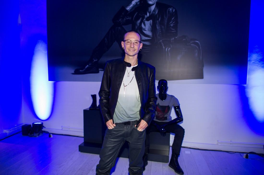 Солист группы Linkin Park Честер Беннингтон