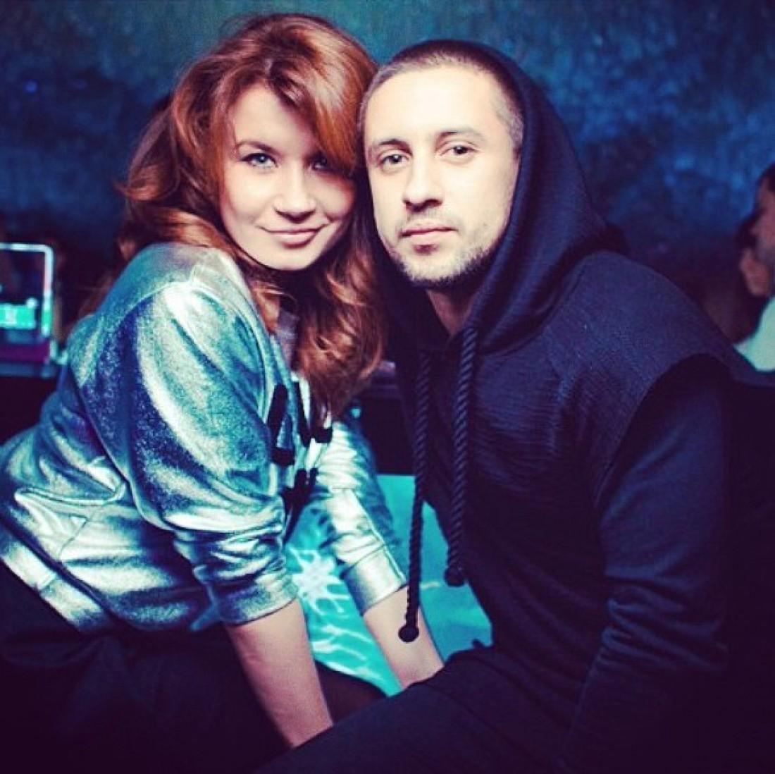 Ирина Демичева с мужем MONATIK