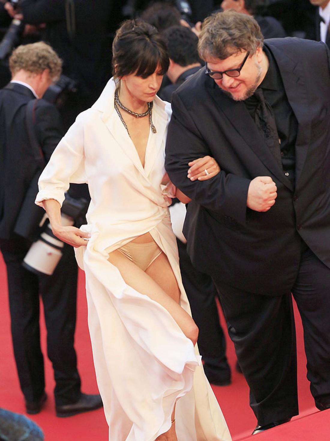Софи Марсо: конфуз с платьем
