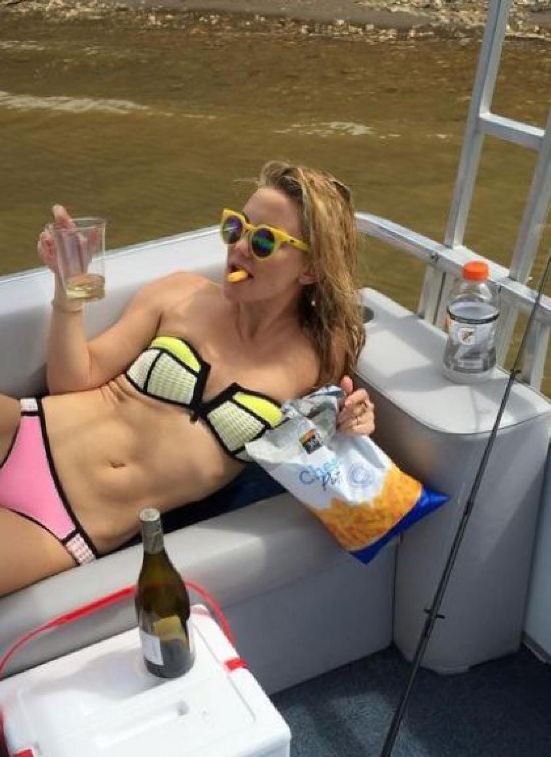 Кейт Хадсон не ограничивает себя в употреблении фаст-фуда