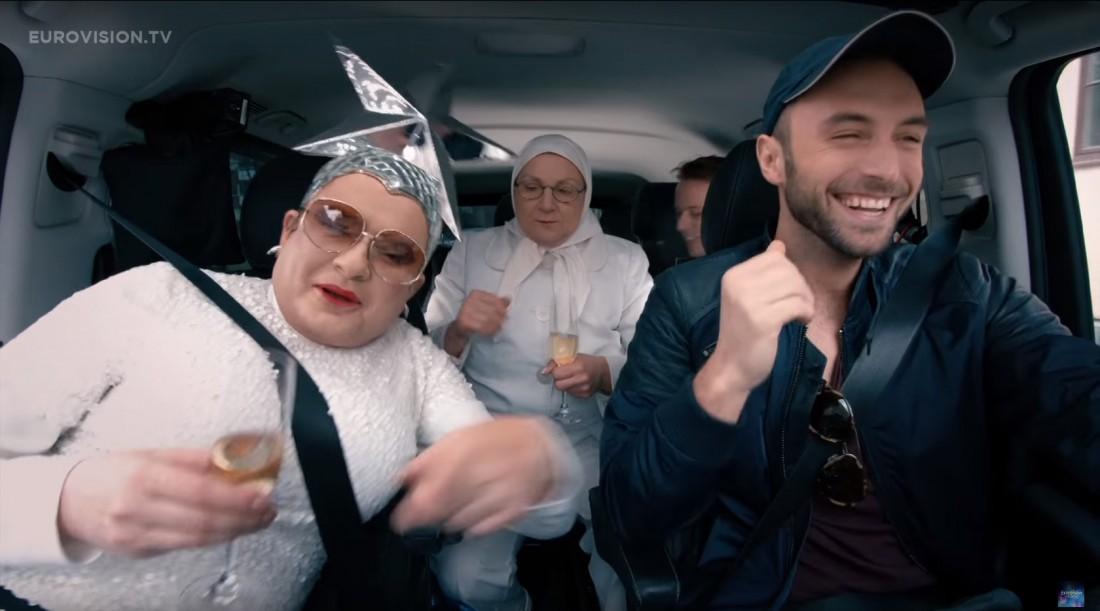 Евровидение 2016: Верка Сердючка и Монс Зелмерлев