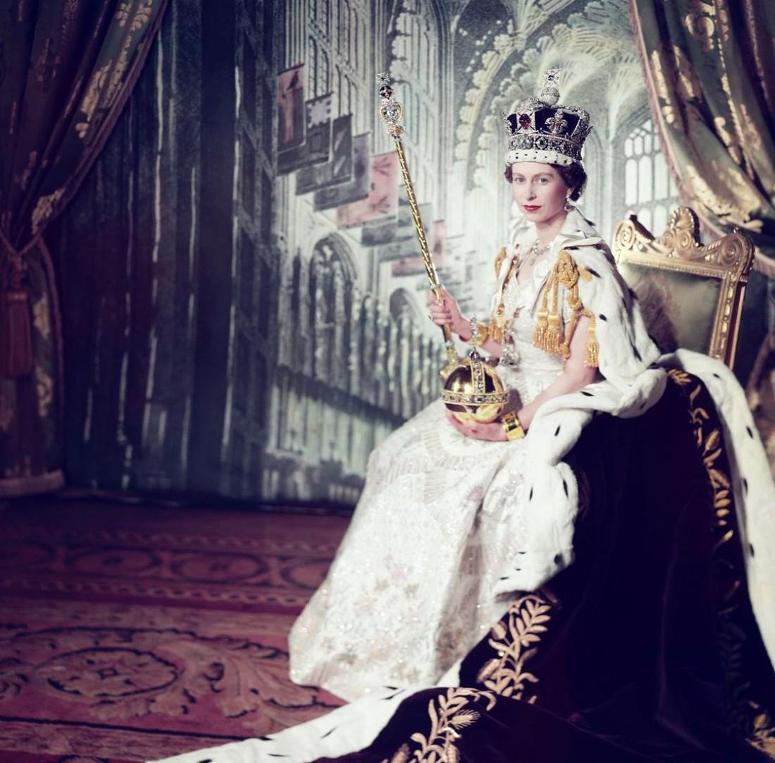 Елизавета II в день коронации