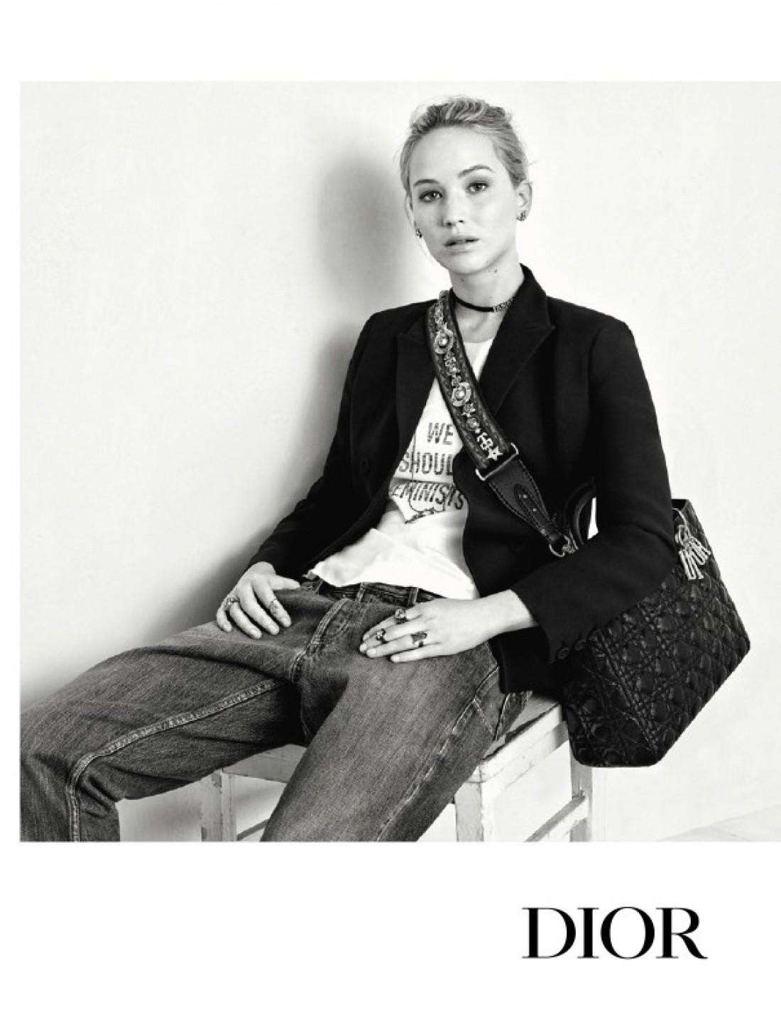 Дженнифер Лоуренс украсила новую рекламную кампанию Dior