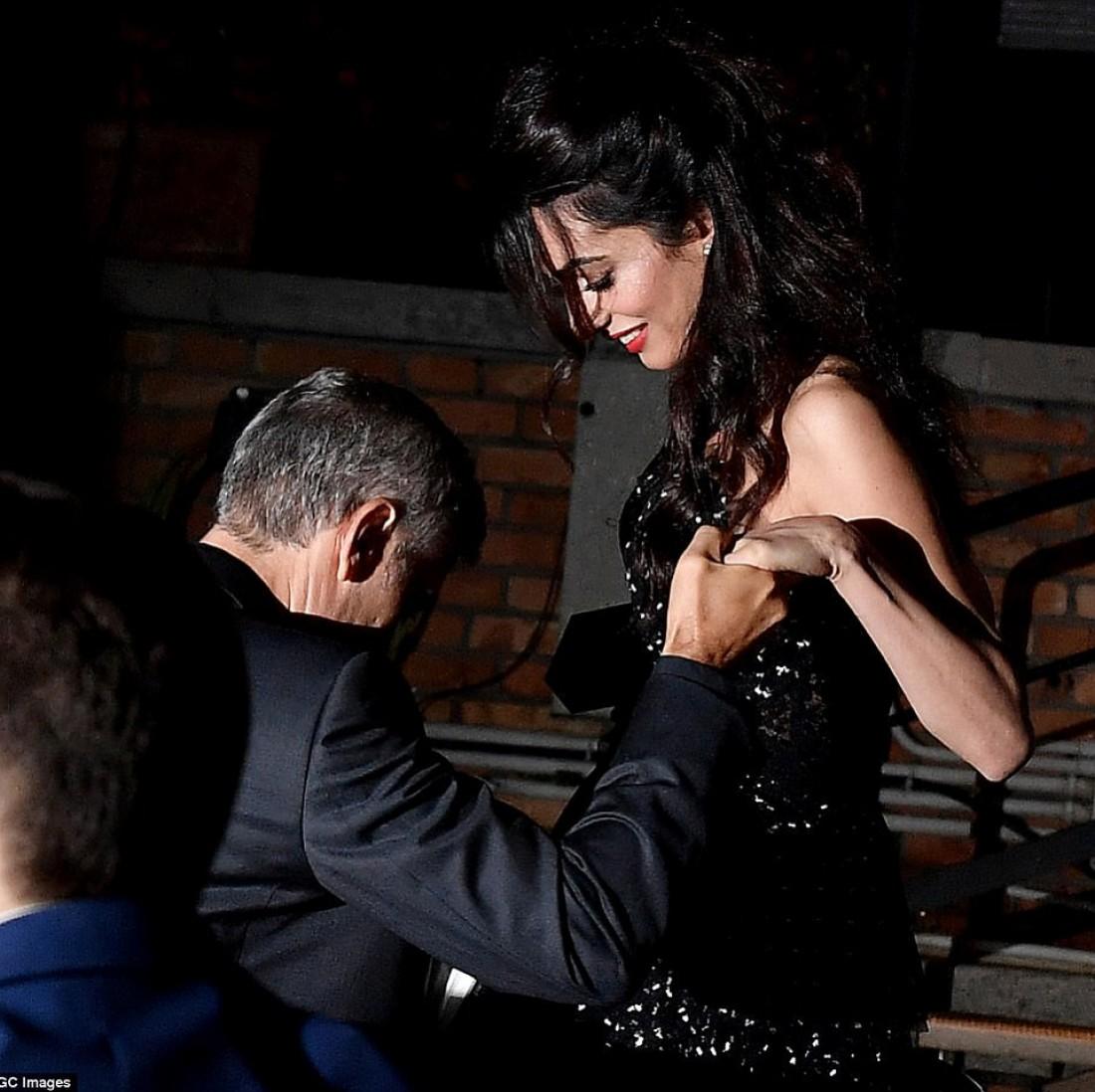Амаль и Джордж Клуни в Венеции