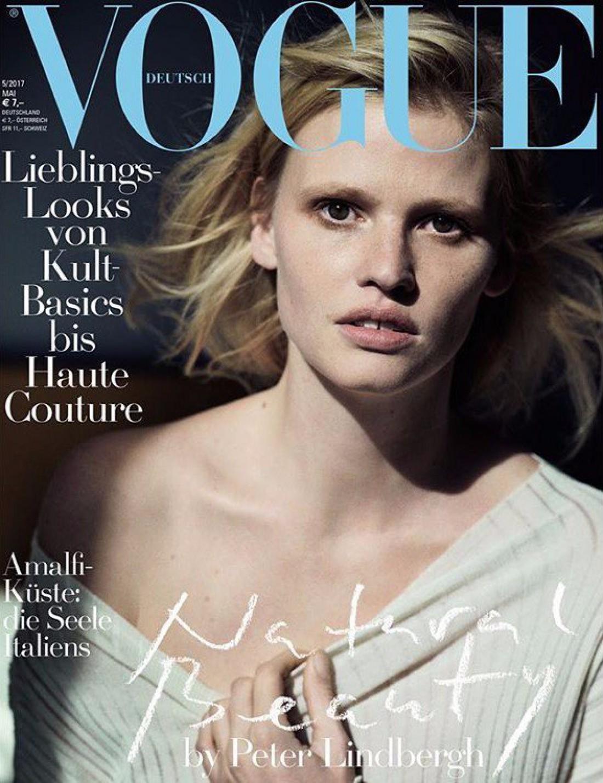 Лара Стоун на обложке Vogue Germany