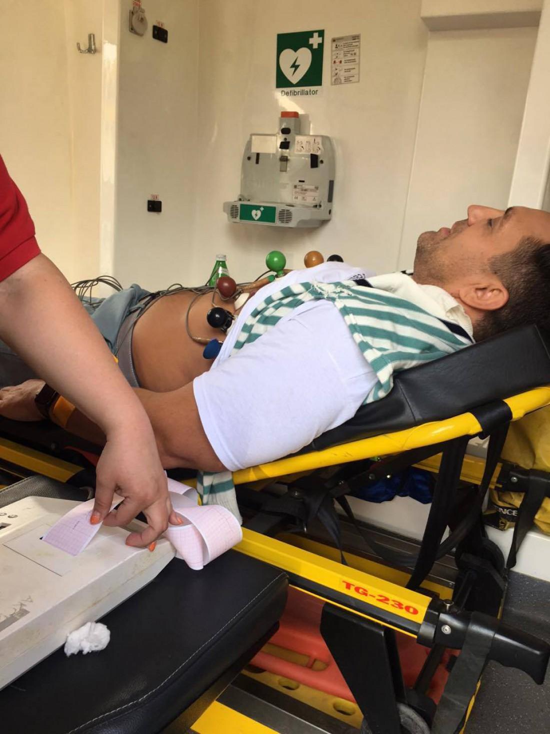 Николай Тищенко попал в больницу