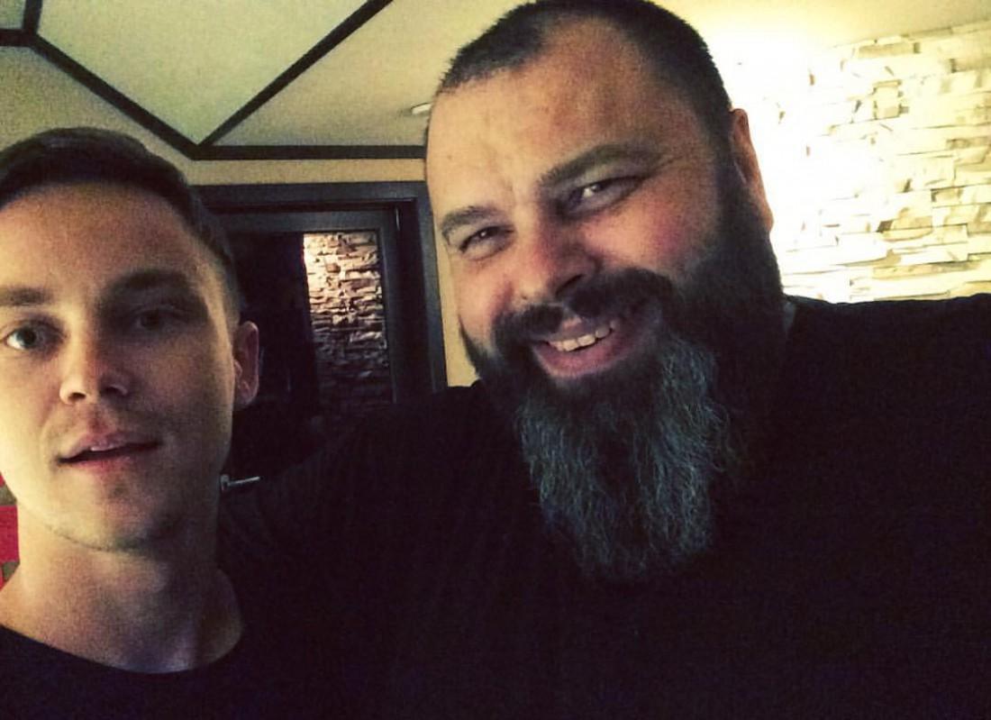 Пивоваров с Максом Фадеевым