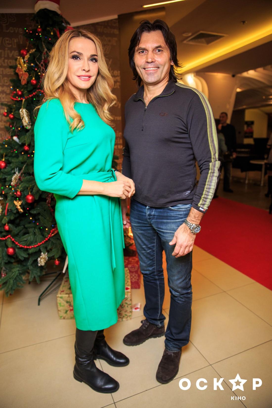 Ольга Сумская с мужем Виталием Брисюком