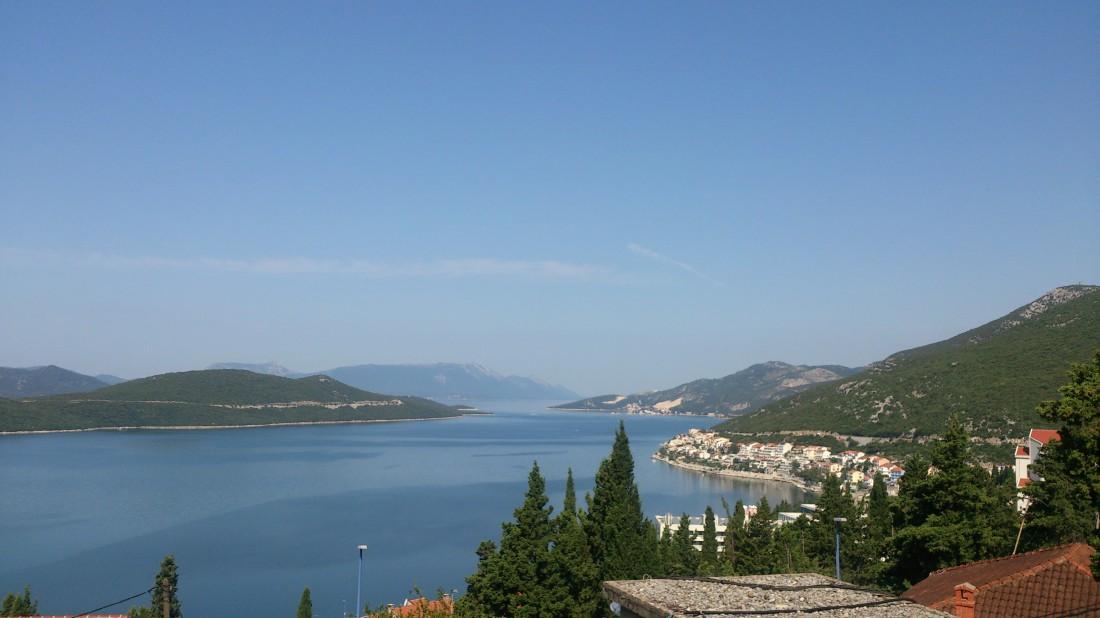 Городок Неум в Боснии и Герцеговине