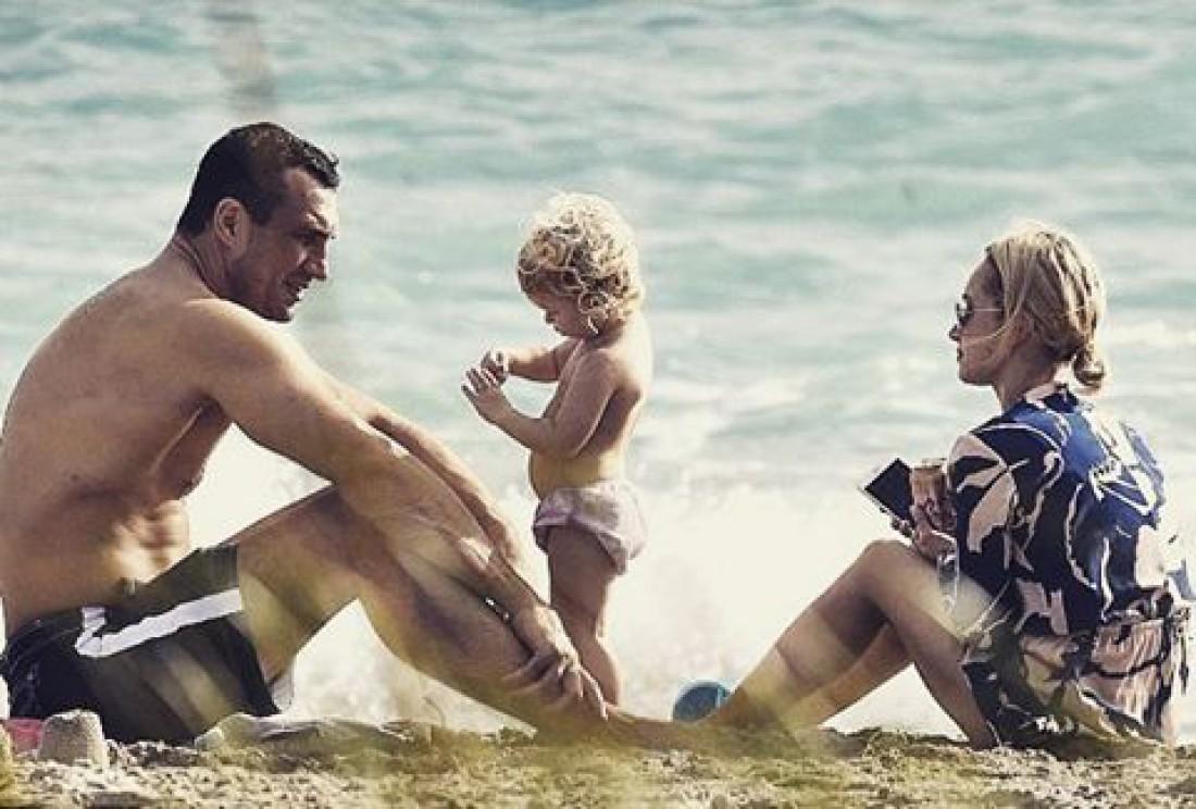 Семейный отдых Кличко