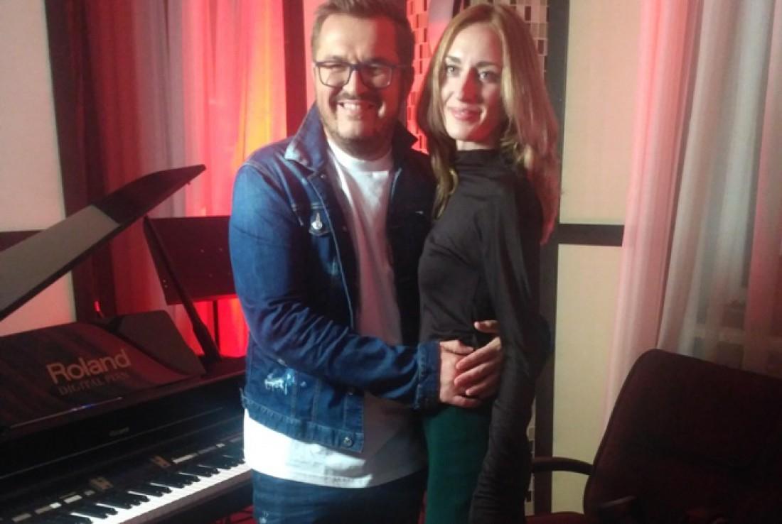 Александр Пономарев с дочкой Женей