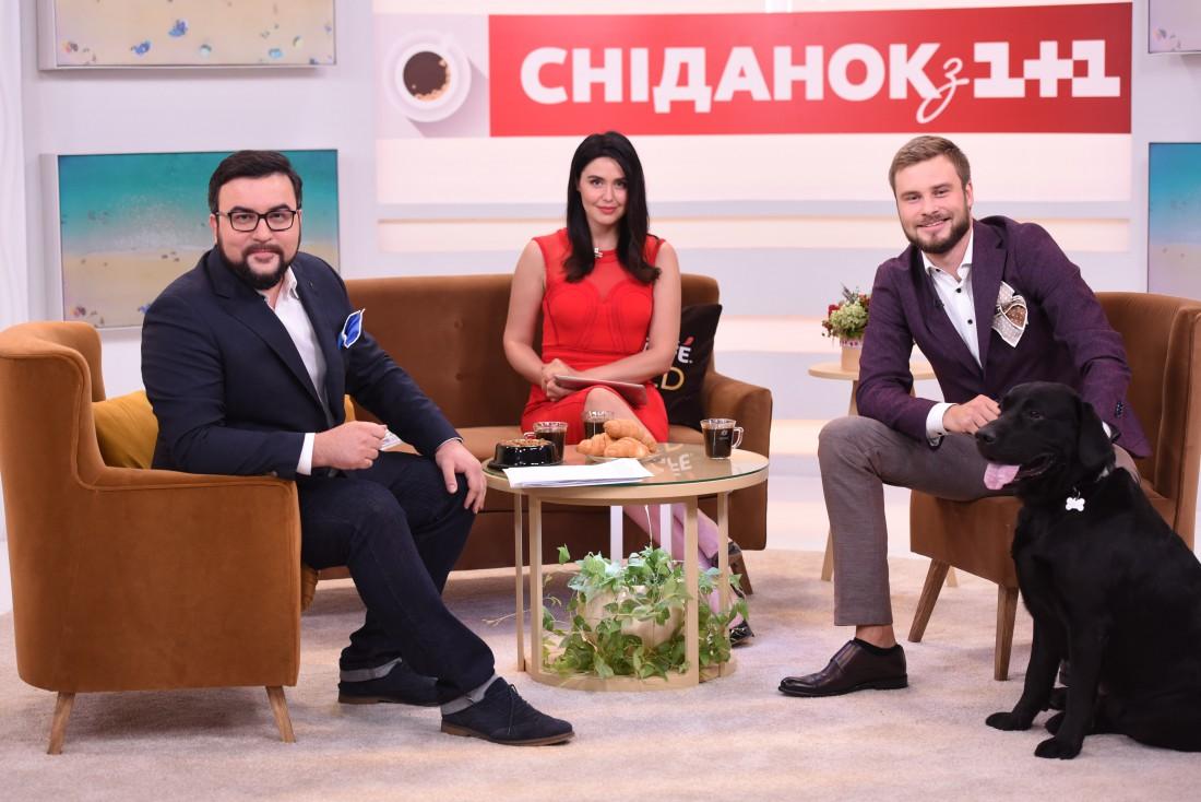 Егорр Гордеев со своими коллегами Русланом Сеничкиным и Людмилой Барбир