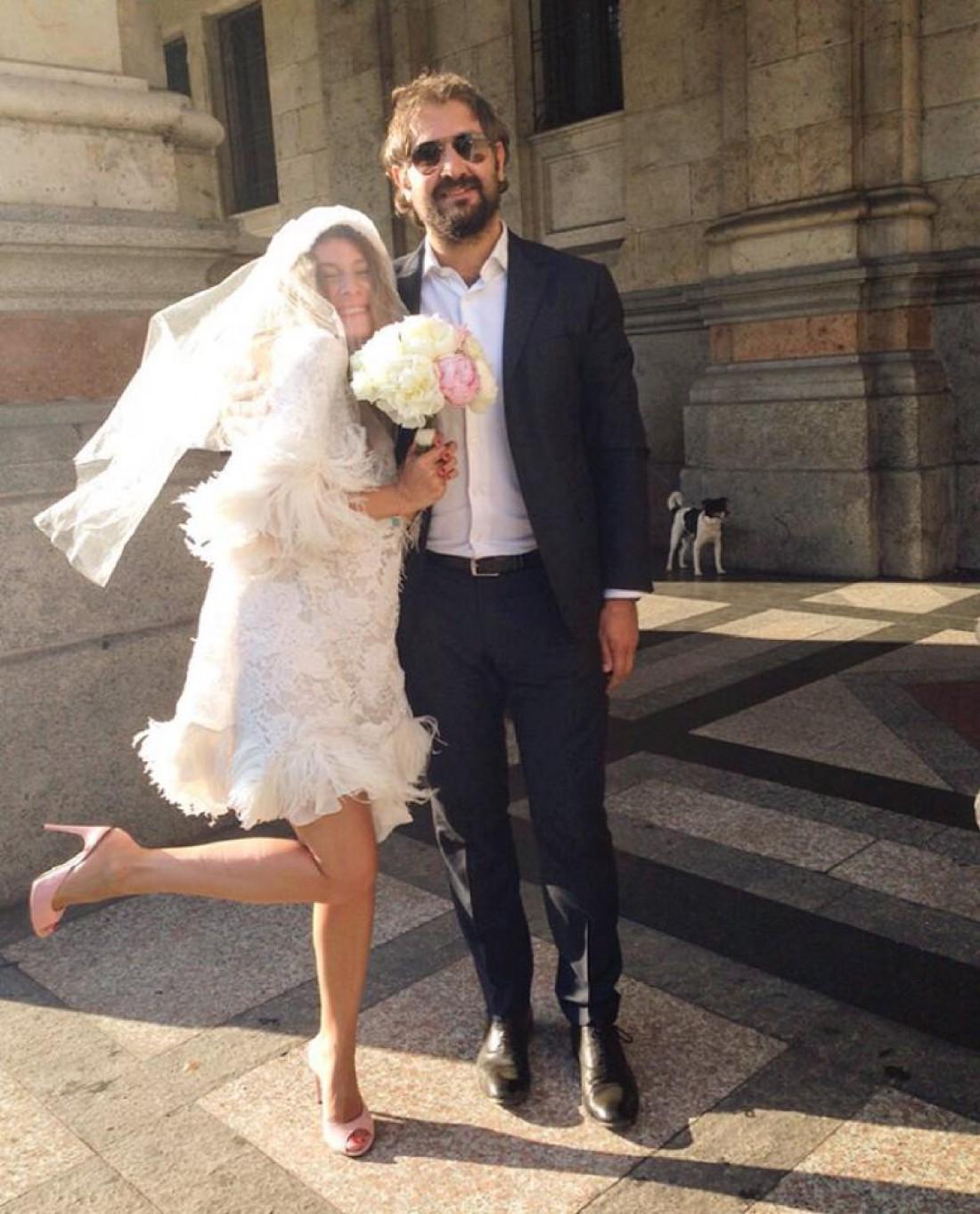 Свадебное фото Жанны и Василия