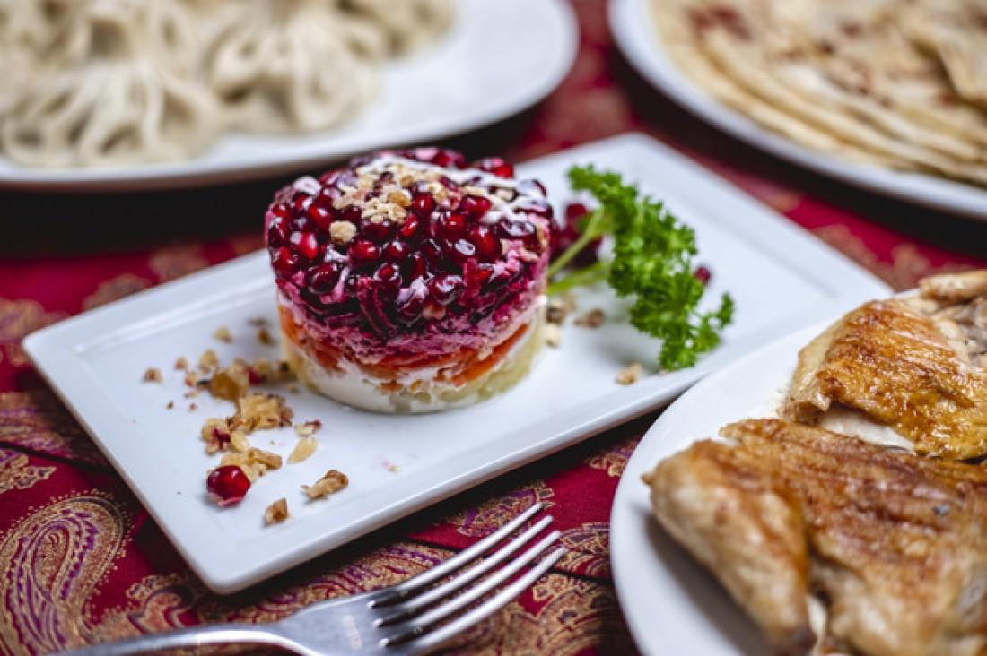 Легкие салаты на Новый год: Салат