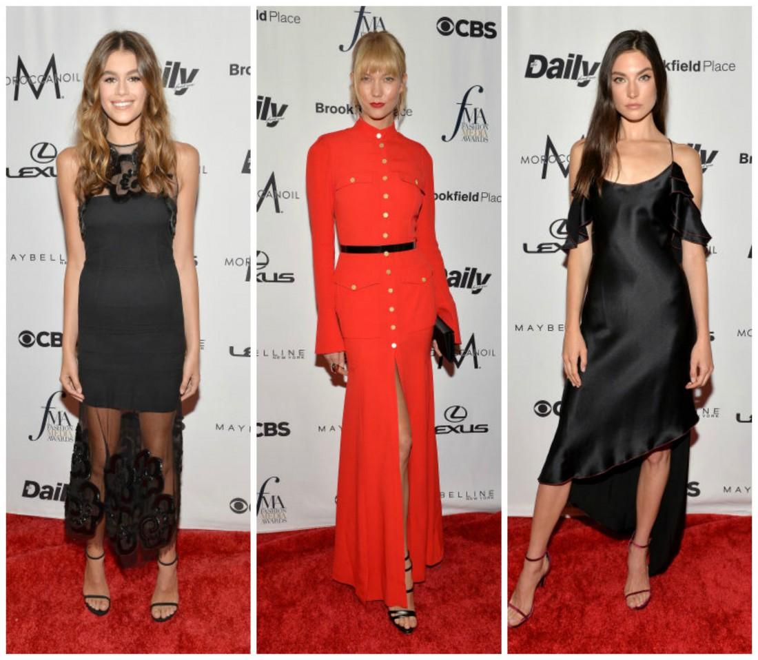 Вручение премии Fashion Media Awards