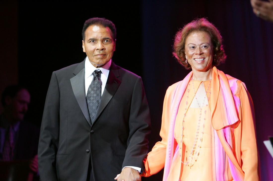 Мохаммед Али с четвертой женой