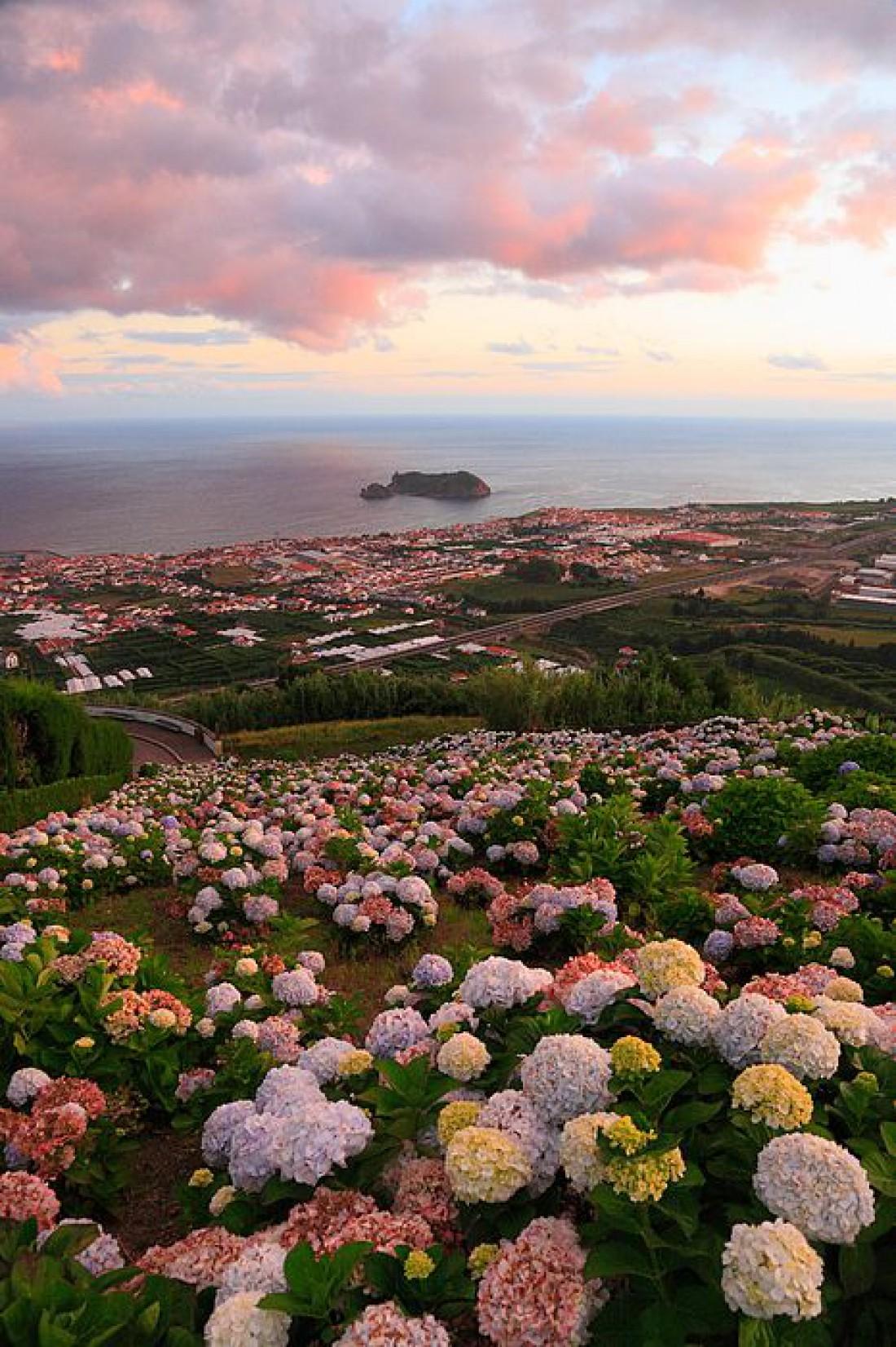 Райское местечко Атлантического Океана: Азорские острова