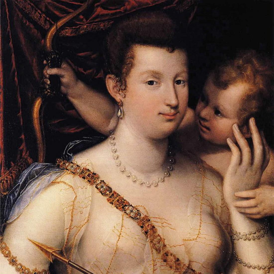 Изабелла Руини, в виде Венеры, Лавиния Фонтана, 1592 год