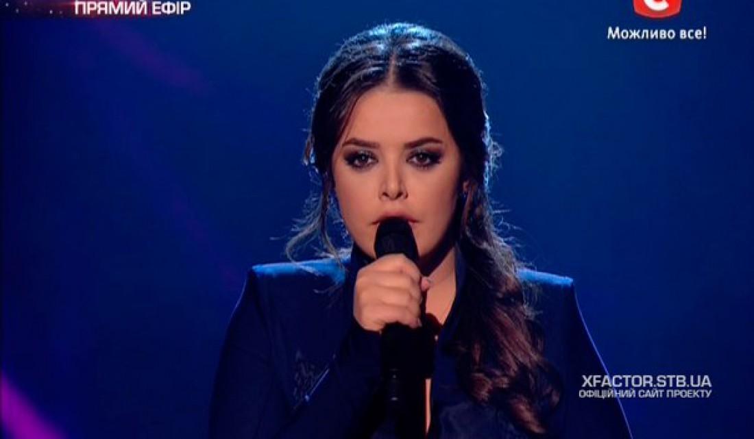 Х-фактор 6 сезон второй прямой эфир: Кристине Мартиашвили