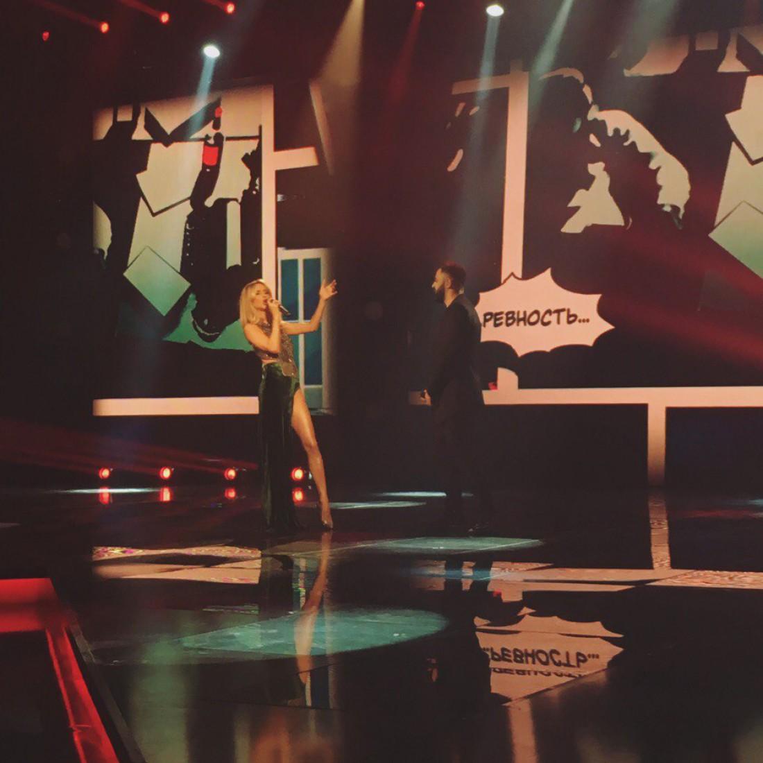 Х-фактор 7 сезон 7 прямой эфир: дуэт Светланы Лободы и Севака