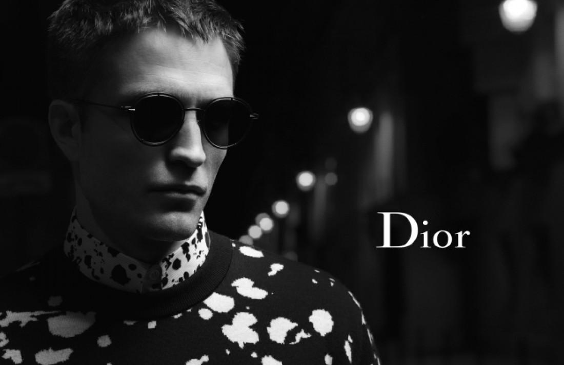 Актер Роберт Паттинсон для Dior Homme