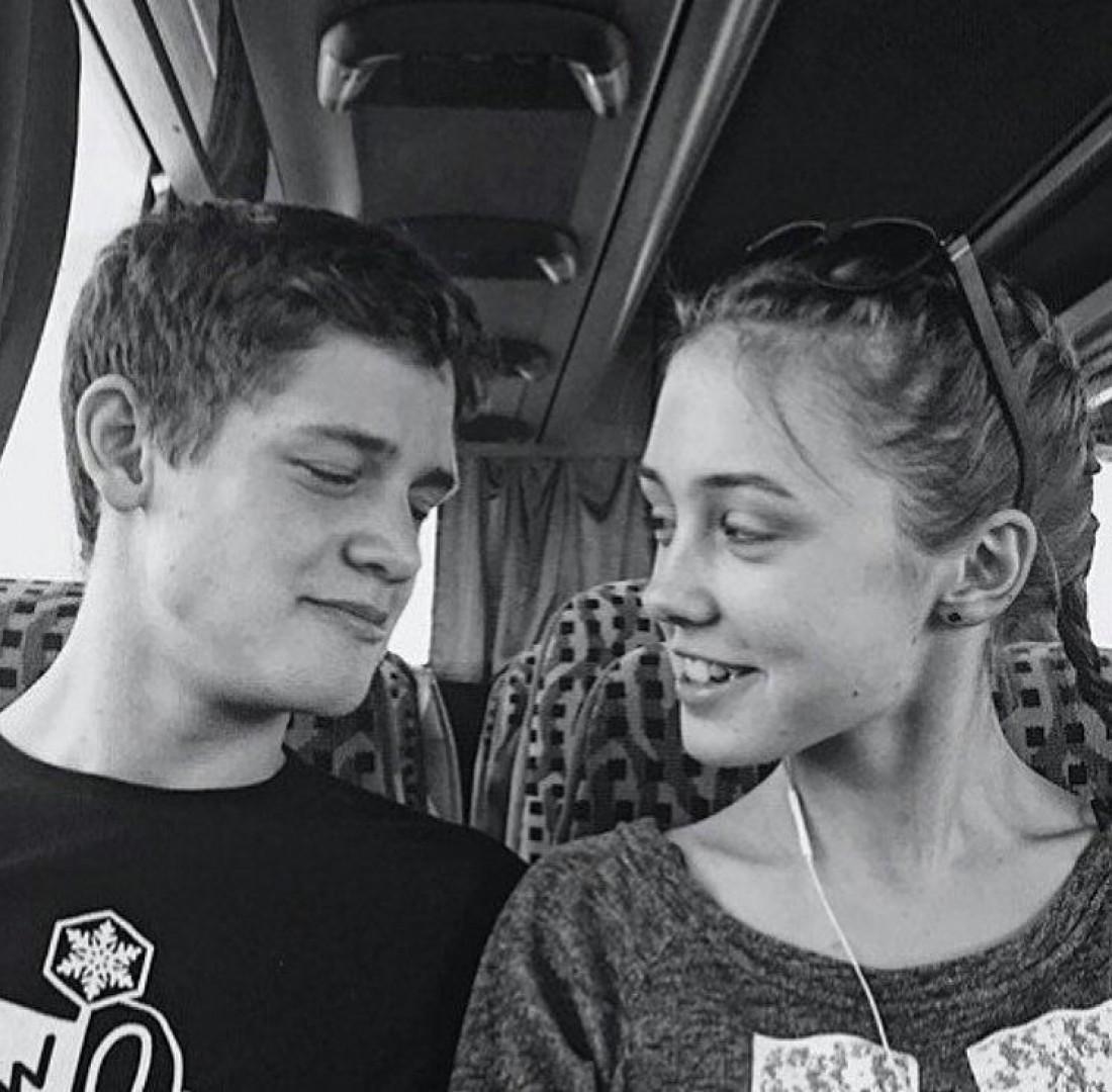 Екатерина Старшова с парнем