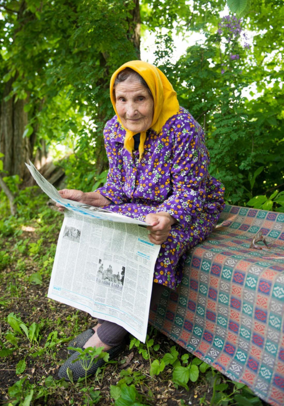 93-летняя Елена находит радость в книгах