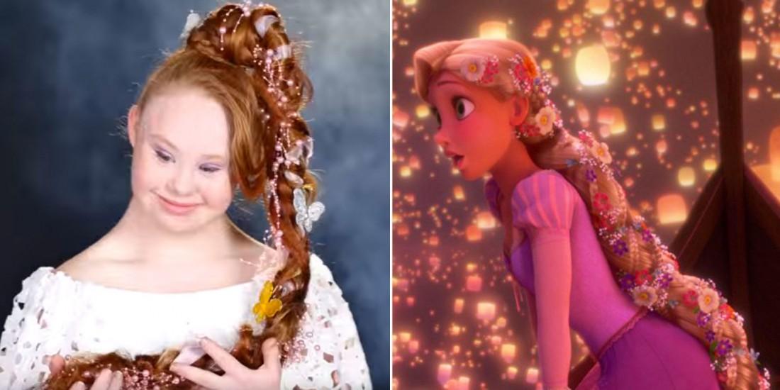 Мэдлин Стюарт примерила образы диснеевских принцесс