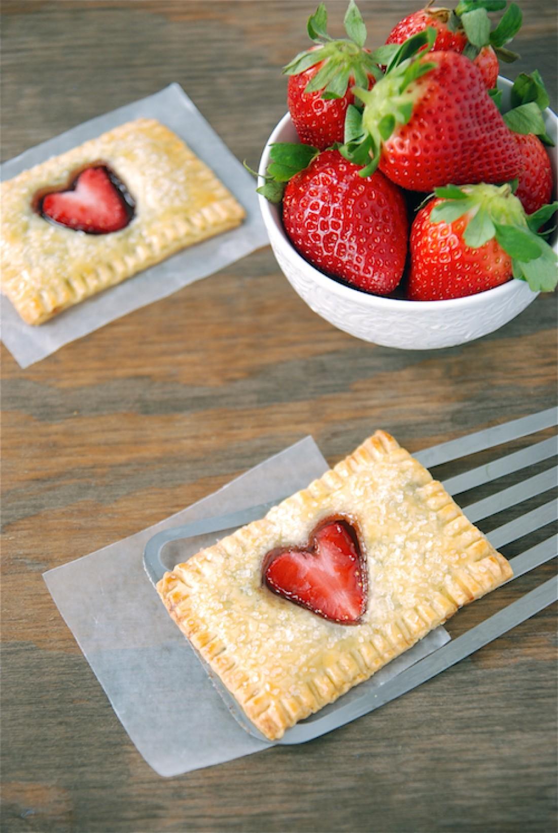 Пирожки на День Валентина