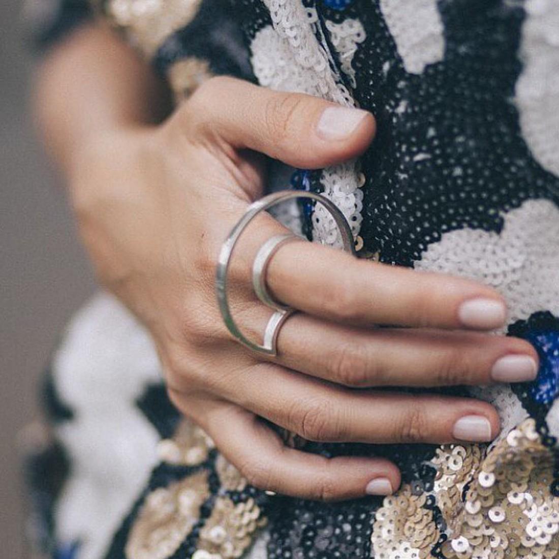 Массивное кольцо от Khoshtrik