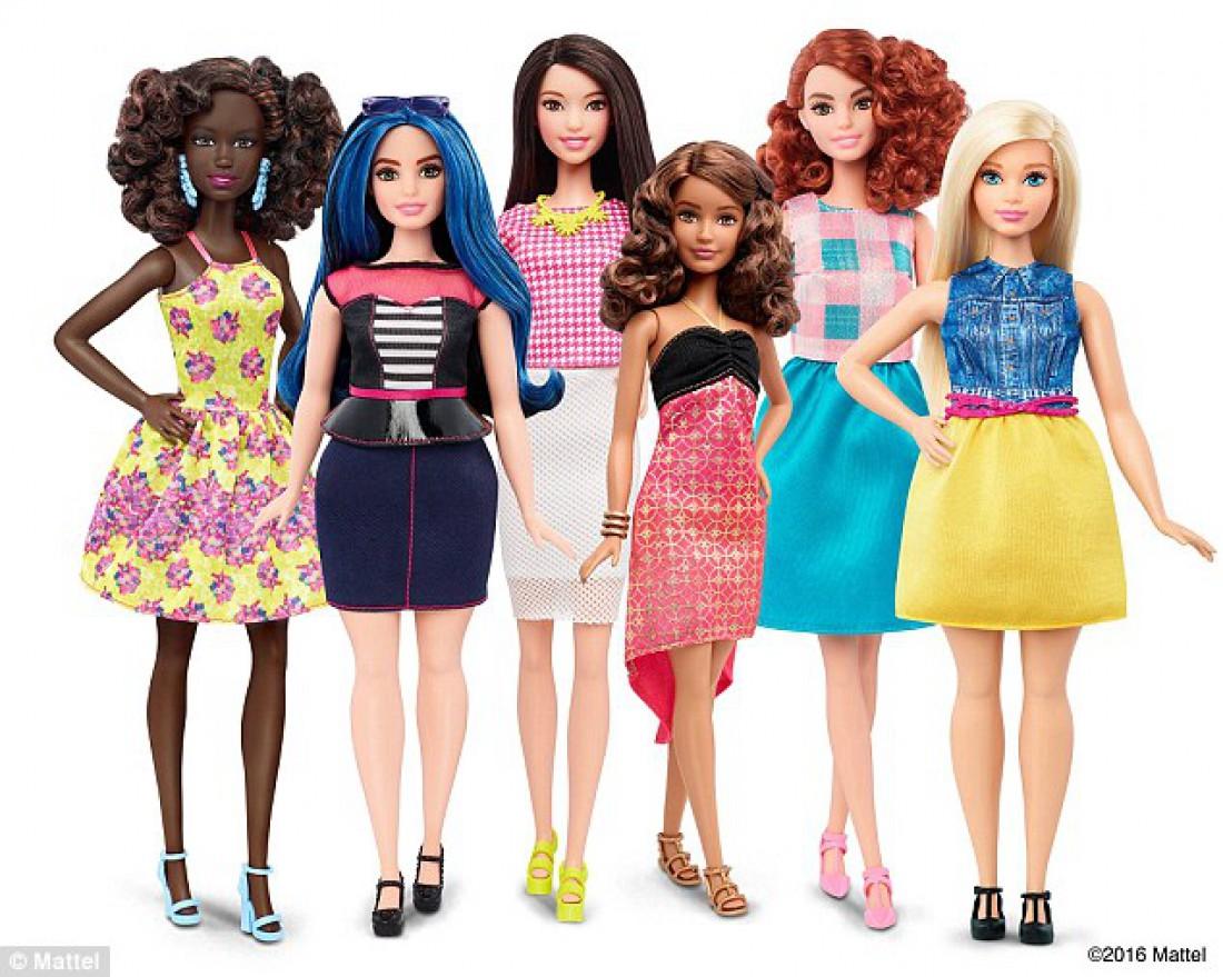 Mattel выпустил коллекцию новых реалистичных Барби