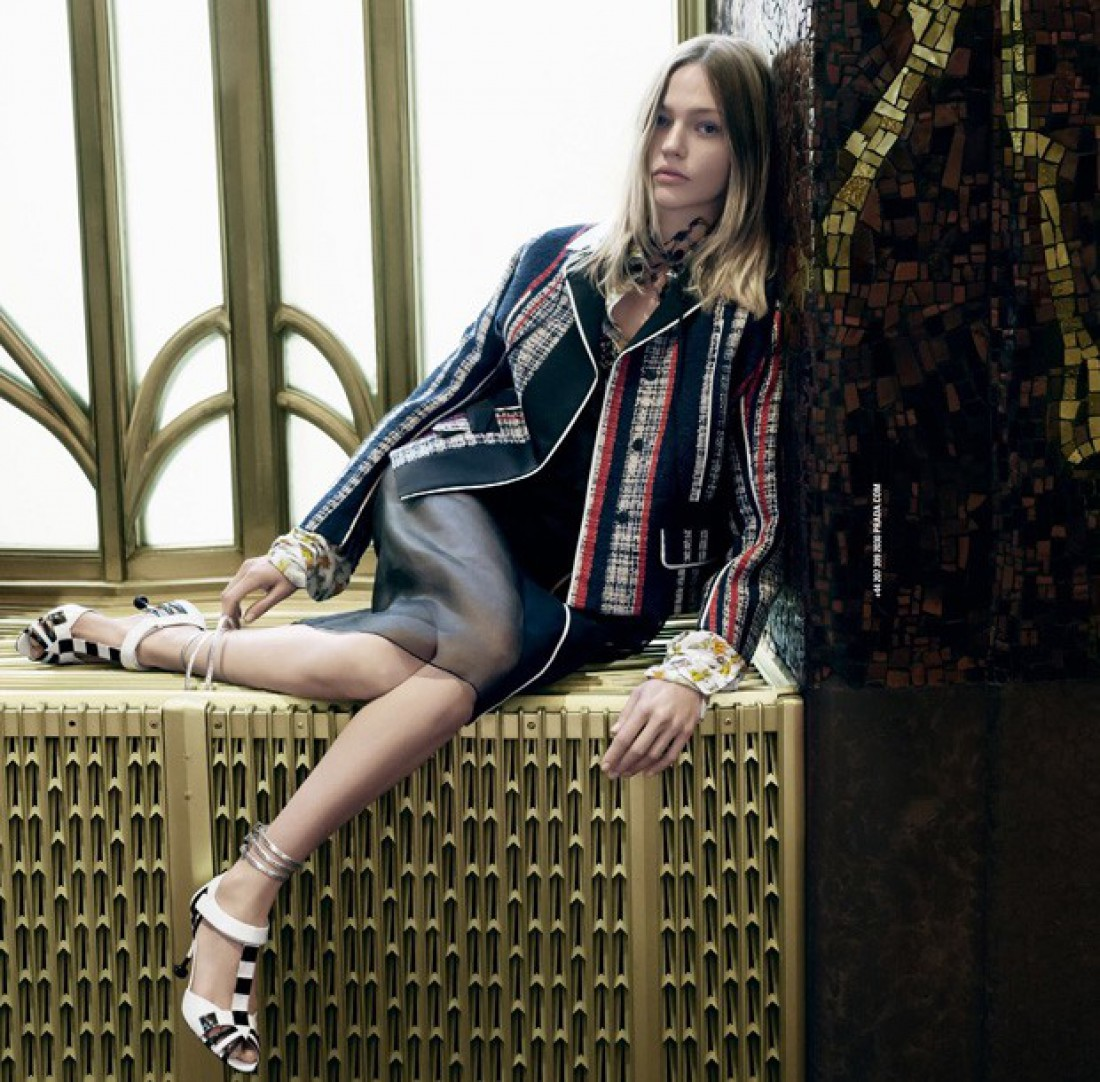 Новая рекламная кампания Prada