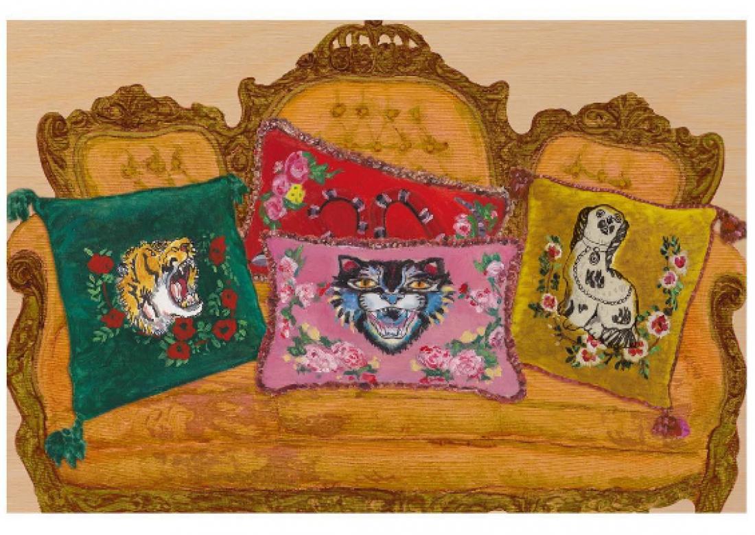 Коллекция товаров для дома от Gucci