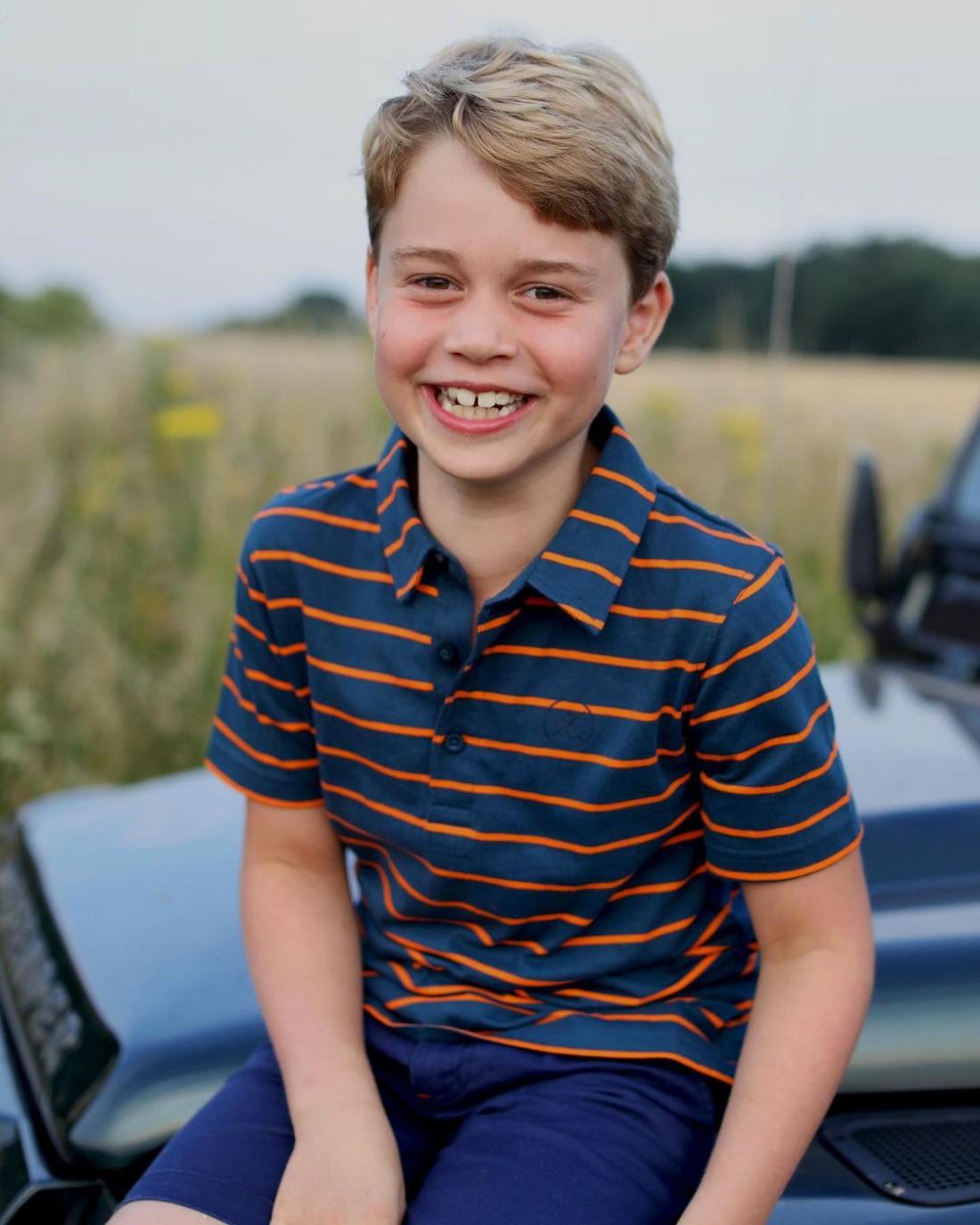Принцу Джорджу исполнилось 8 лет